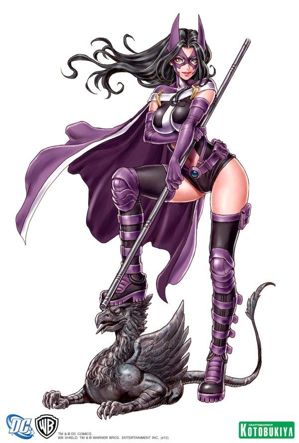 Bishoujo Style Huntress by Shunya Yamashita - DC Comics, Anime, Manga