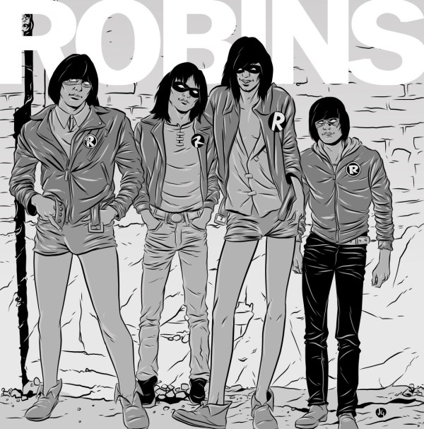 Various Robins on The Ramones by Josh Gowdy