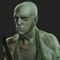 Michael Berryman Portrait - Horror Movie Actors