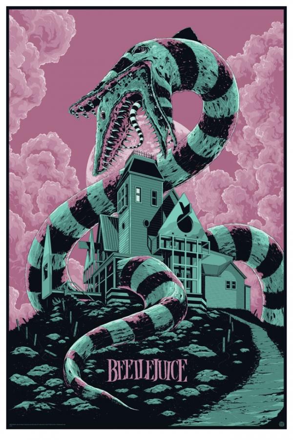 Beetlejuice Poster Art by Ken Taylor