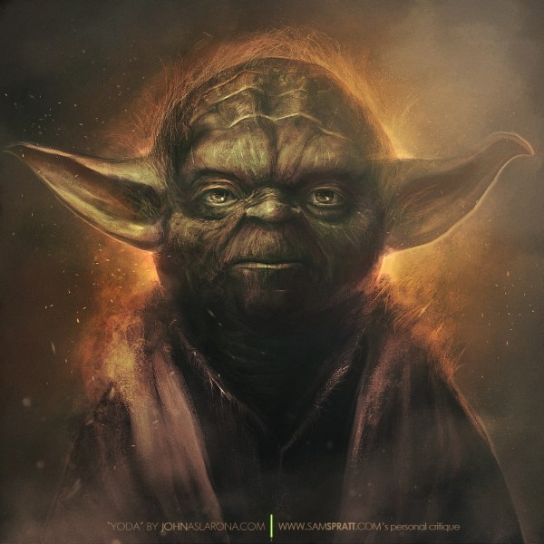 Yoda by John Aslarona - Star Wars