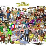 The Internet Class Photo - Full Cast Poster - All the Memes and viral video stars