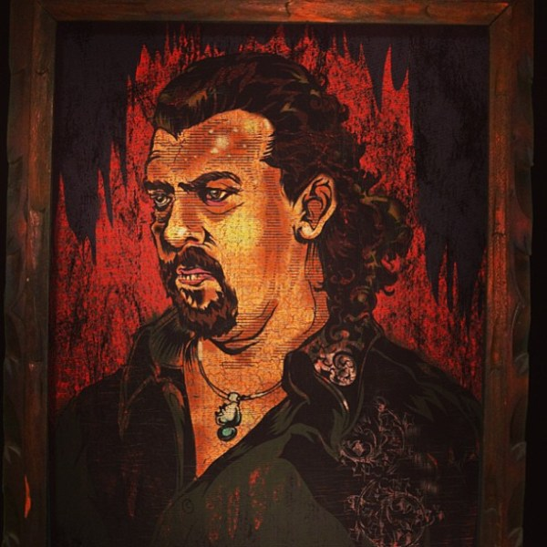 Velvet Kenny Powers Painting by JTO (Jeff T. Owens) - Eastbound and Down - Danny McBride