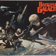 Frank Frazetta Battlestar Galactica Paintings - Cylon Death Machine