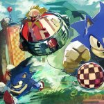 Sonic the Hedgehog By Vandrell - retro video game art