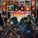 Fearless Defenders #5 Cover by Mark Brooks - Fighting Game Homage