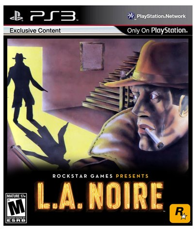 retro la noire box art - vintage 1980s style video game covers for modern games