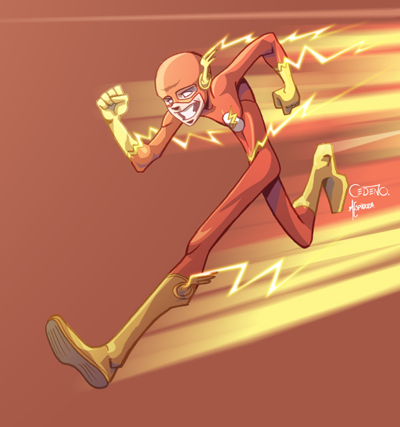 Flash by Allan Cedeño