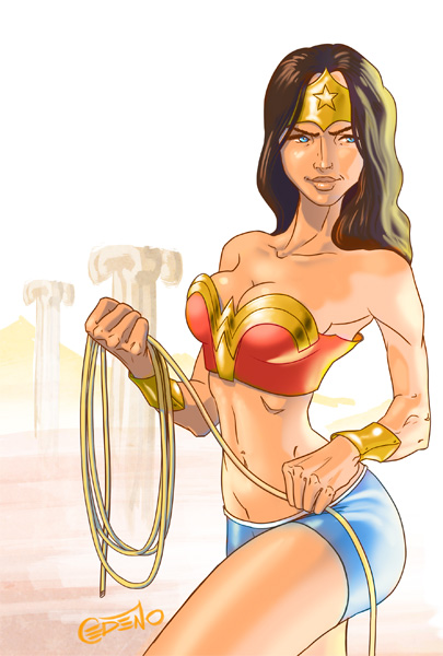 Wonder Woman by Allan Cedeño