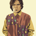 Tyrion Lannister 90s Style by Mike Wrobel - Game of Thrones