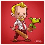 Shaun of the Dead x Plants vs Zombies Mashup by Alberto Arni