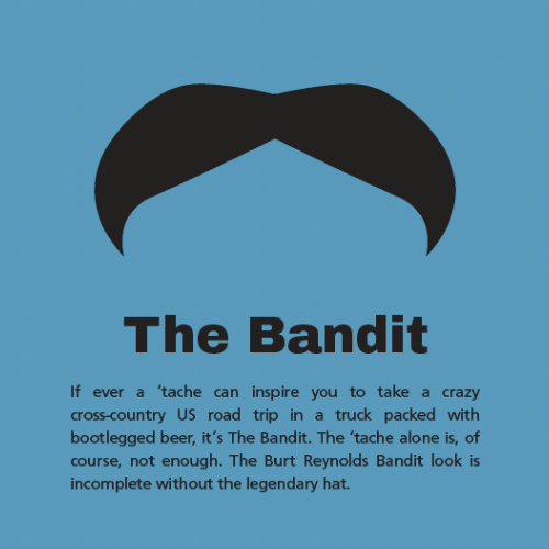 Burt Reynolds - Smokey and the Bandit Mustache