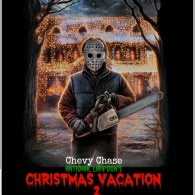 Christmas Vacation Horror Poster
