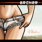 Cherlene album art by Neal Holman - Archer Soundtrack