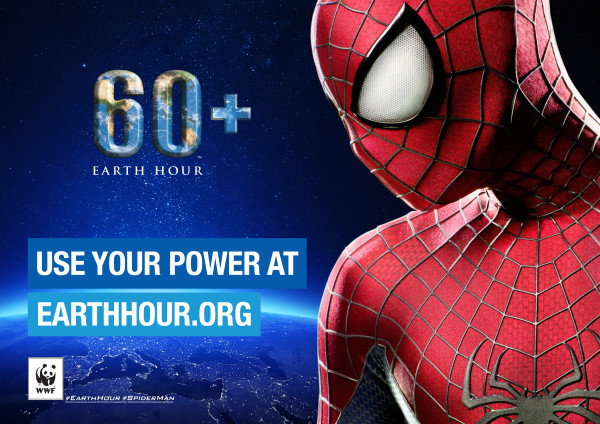 Earth Hour & Spider-Man Join Forces to Save the Planet
