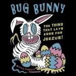 David Cronenberg Style Easter Bunny Art