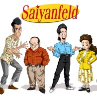 Saiyanfeld - Seinfeld in the style of Akira Toriyama (Dragon Ball)