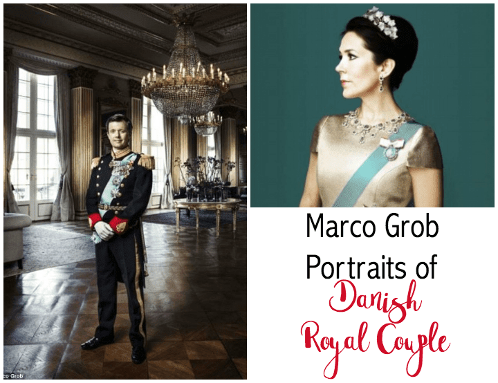 Striking Portraits of Danish Crown Prince Couple