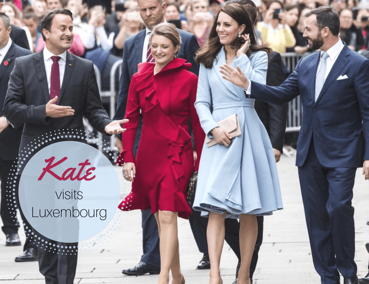 Kate Visits Luxembourg as a Brexit Ambassador