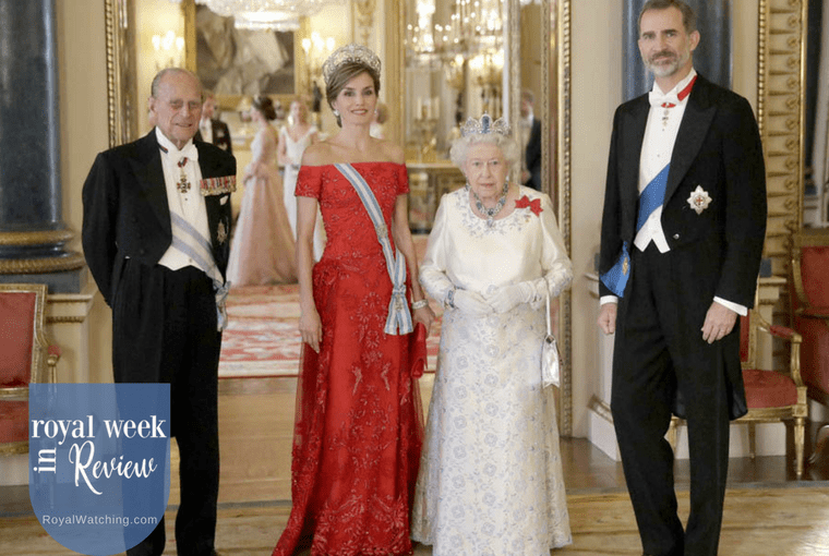 Spanish Royals Make State Visit to UK