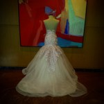 Bridal gown and entourage attire by RoyAnne Camillia - Manila
