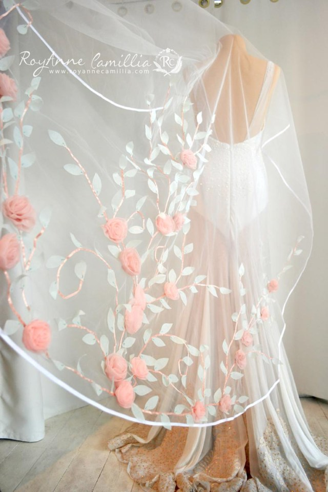 heirloom wedding veil - RoyAnne Camillia - Bridal gown Manila