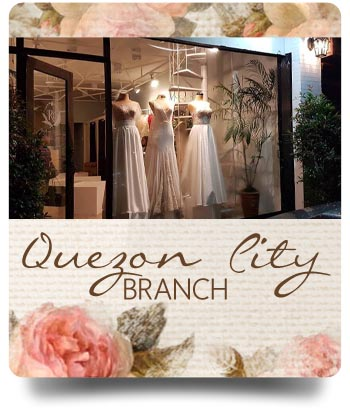 Quezon city Branch - RoyAnne Camillia Couture branches in Metro Manila that offer Couture and Rentals for Bridal and Debut gowns in Manila