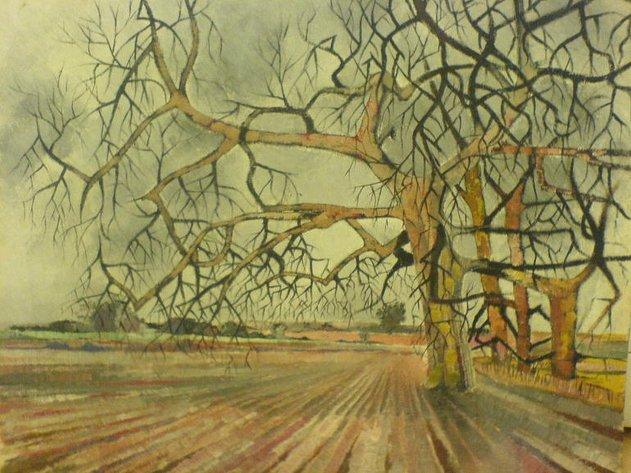 london, trees, wanstead flats,