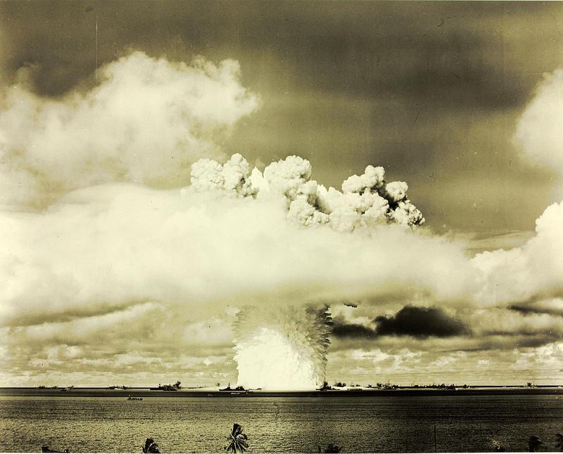Efekt wybuchu bomby atomowej