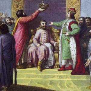 Bolesław Śmiały wprowadza na tron węgierski Belę