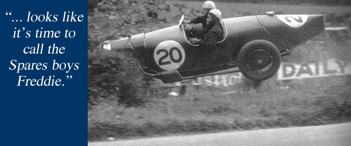 Flying Freddie Dixon - 1932 Ulster Tourist Trophy