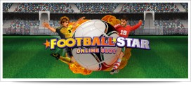 Football fans will love the new online video Football Star Slot