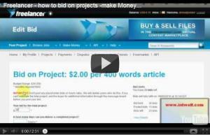 video - how to bid