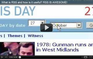 video - what is rss
