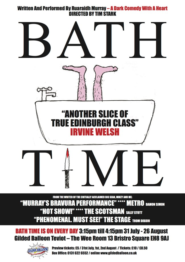 BATH TIME A3 POSTER art
