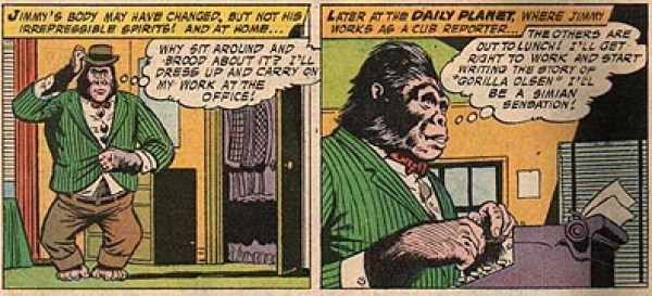 """Nice monkey suit."" - Something no one had the balls to say to me for fear of having their arms ripped off"