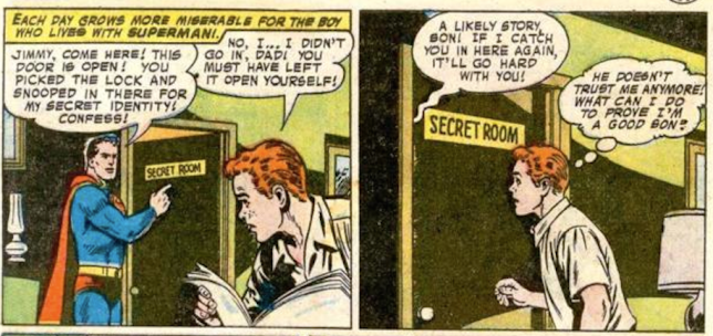 "Dude, no one cares about your stupid ""secret"" identity. Seriously."