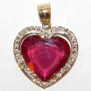 Ruby pendants archives rubies sapphires stunning 1958ctw natural ruby diamond 14k gold pendant mozeypictures