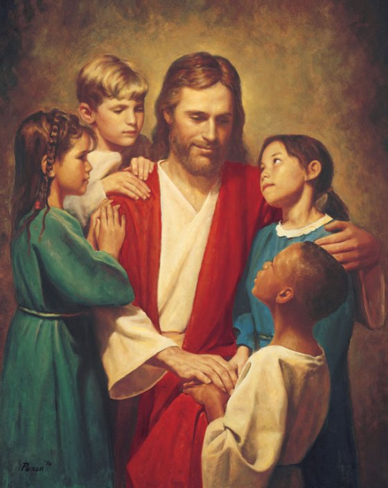christ-with-the-children