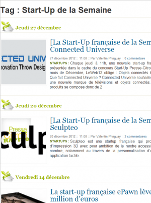 Start Up De La Semaine   Presse Citron