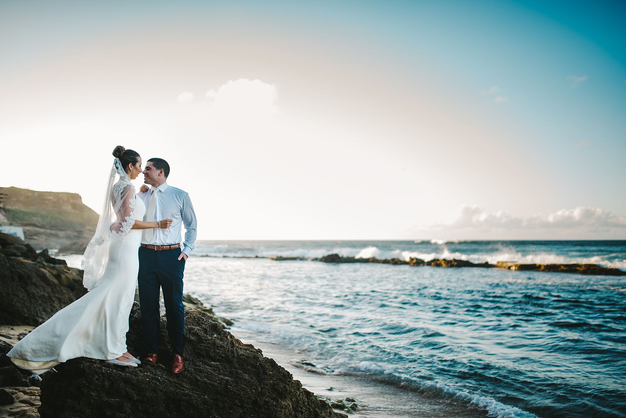 epic san juan wedding picture