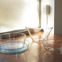 ガラス食器類