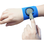 Wristband Prototype for two-handed interaction
