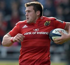South African CJ Stander will make his debut for Ireland