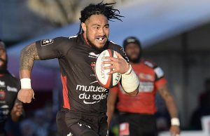 Ma'a Nonu has scored his first try in French rugby