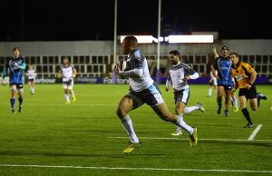 Marcus Watson scored an incredible four tries