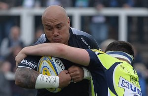 Nili Latu scored a hat trick for Newcastle