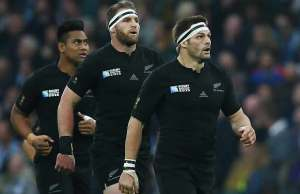 Richie McCaw has led the All Blacks out for the last time