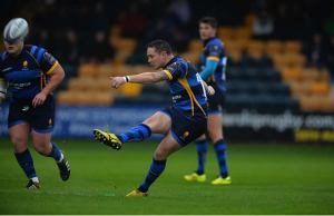 Ryan Lamb kicked 14 points for Worcester