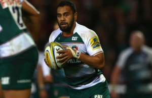 Telusa Veainu scored two tries for Leicester Tigers